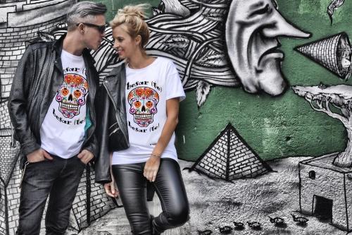 camiseta besarte o no besarte de be happiness