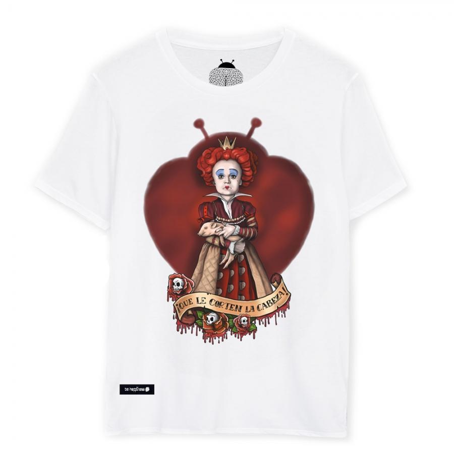 camiseta de la reina de corazones