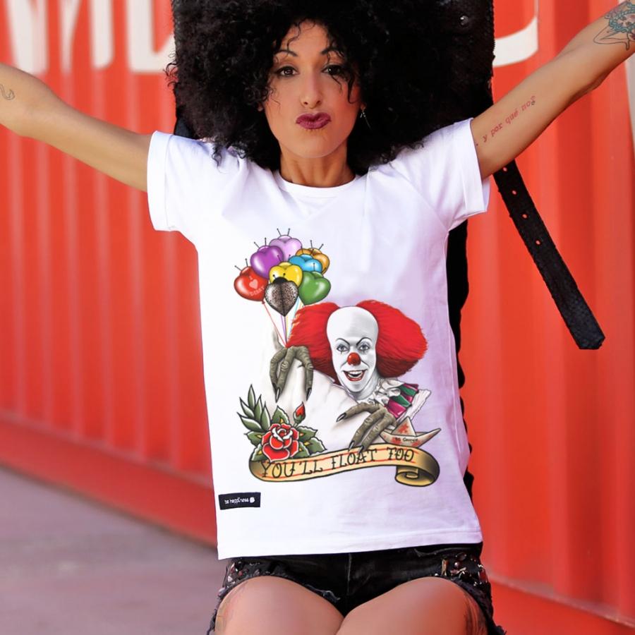 camiseta payaso it