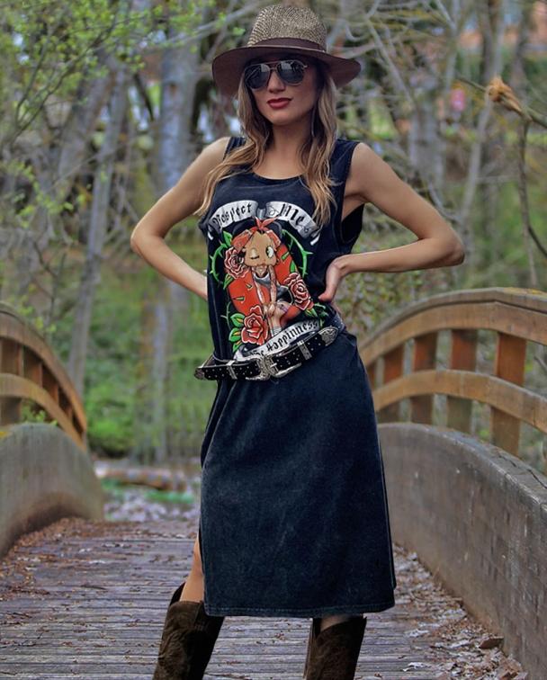 vestido betty boop