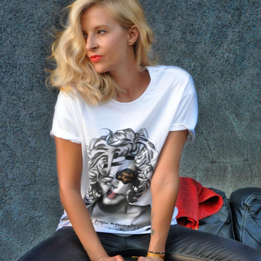 camiseta de maddonna