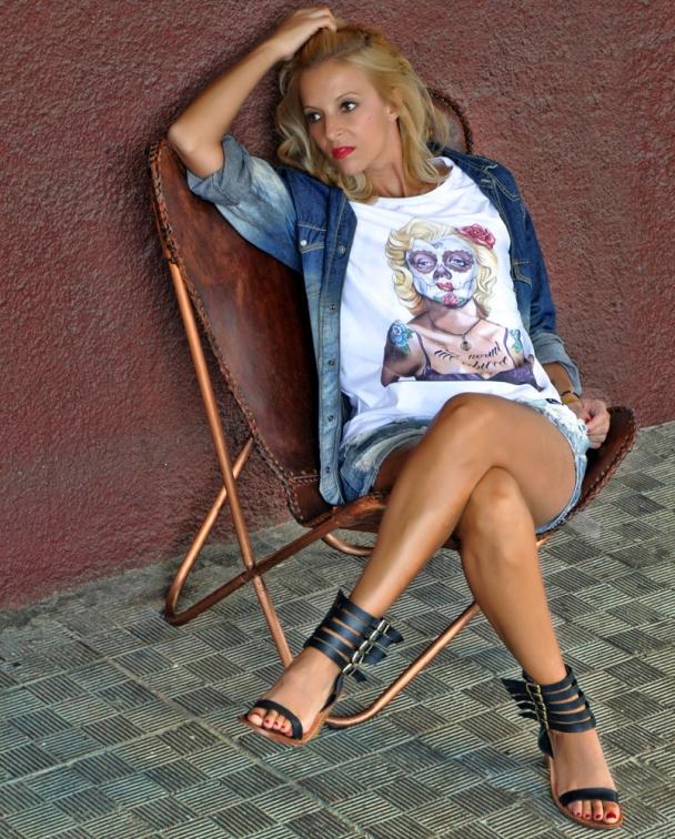camisetas marilyn monroe