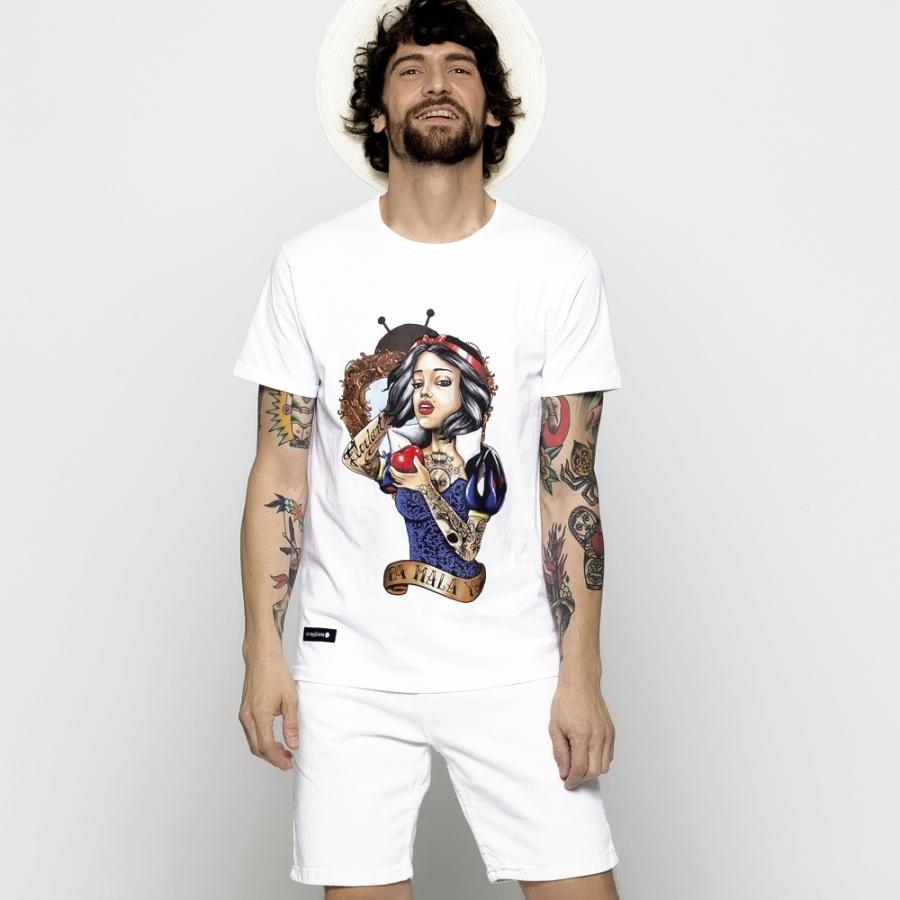 camisetas blanca nieves