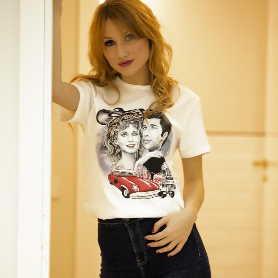 camiseta de greases