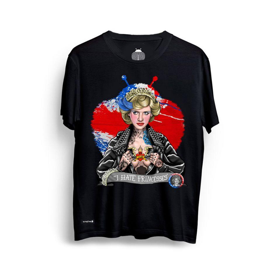 camisetas lady di negra