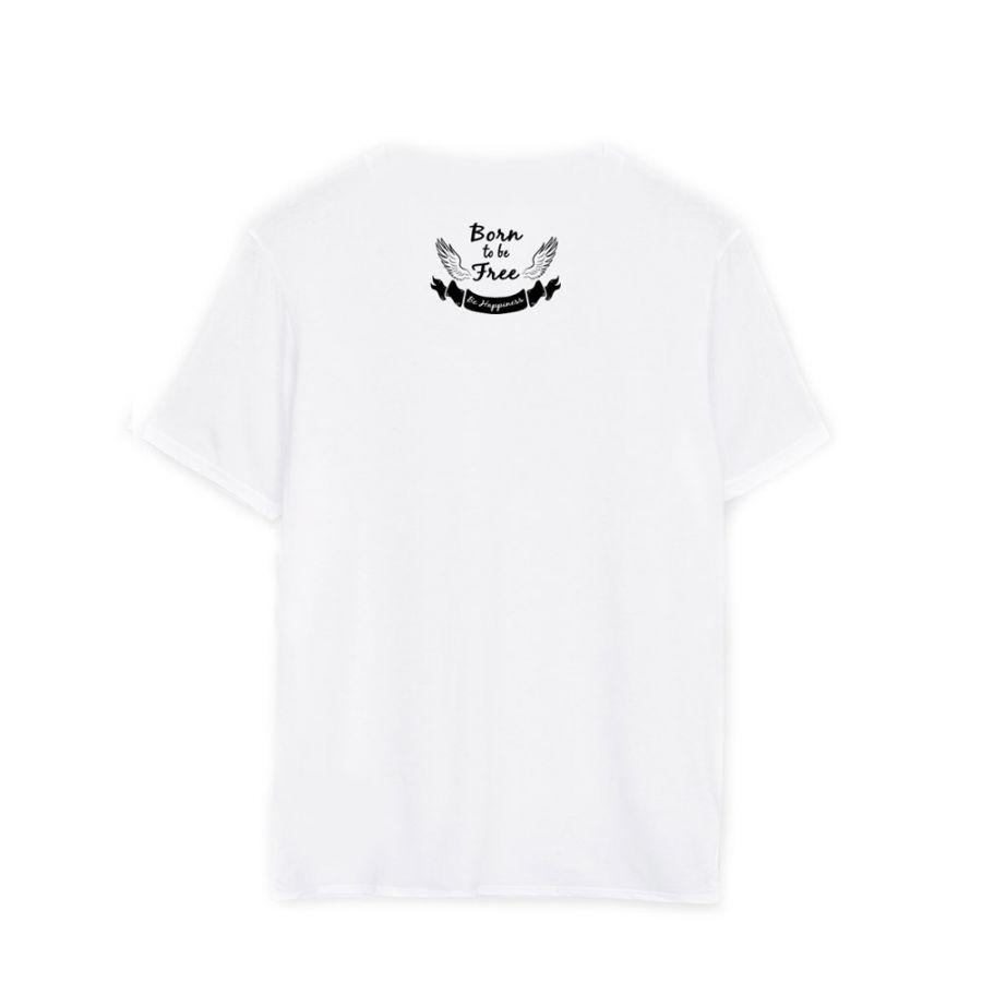 camisetas noami campbell blanca trasera