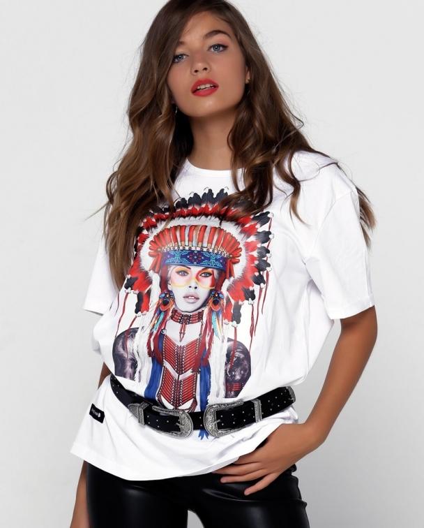 camisetas blancas BRIGITTE BARDOT