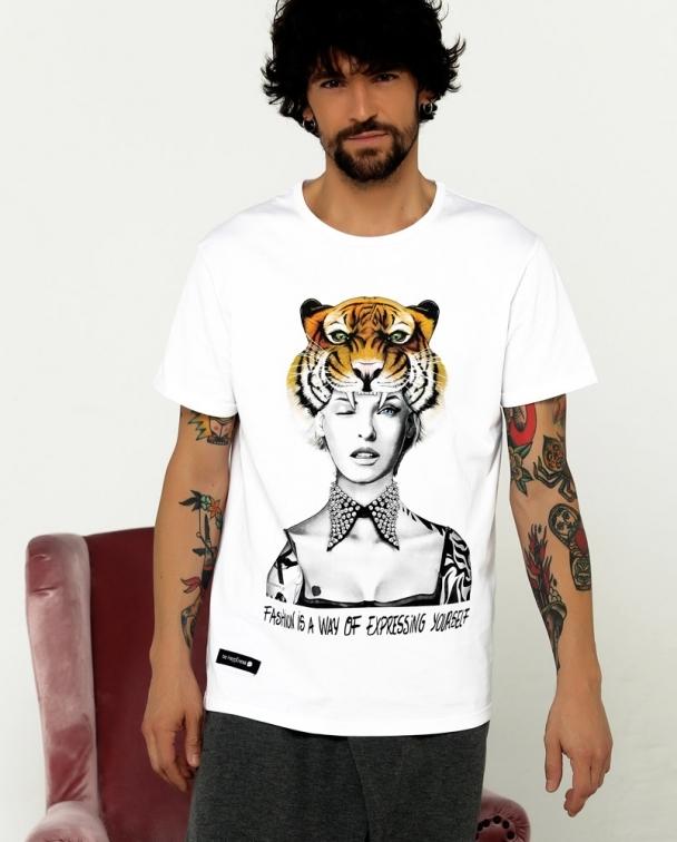 camisetas LINDA EVANGELISTA blanca