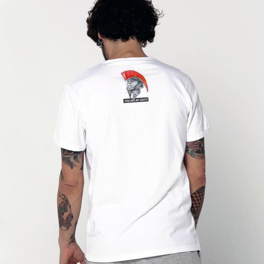 camisetas cleopatra blanca