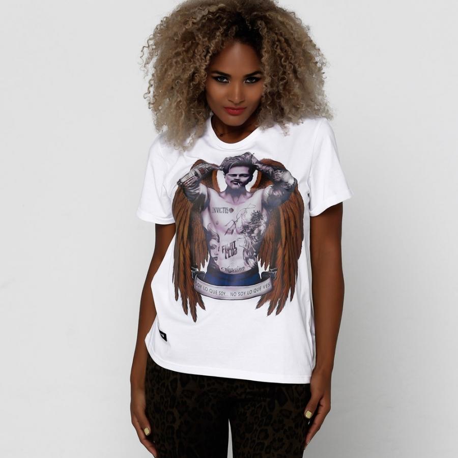 camisetas blanca BRAD PITT