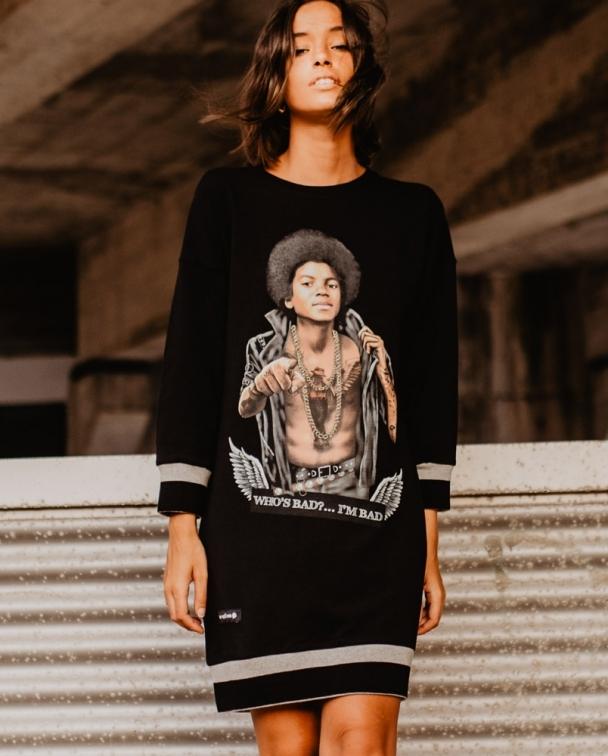 vestido negro MICHAEL JACKSON