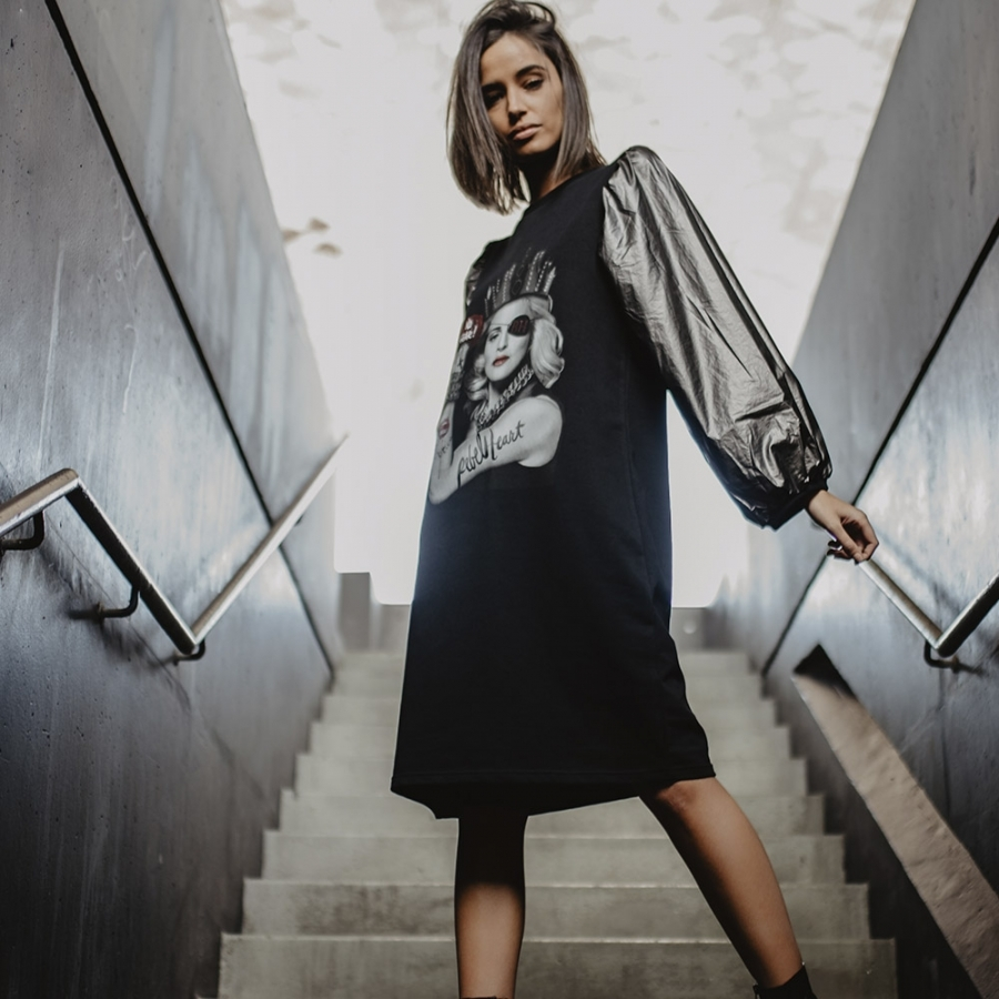 vestido madonna rebelheart C