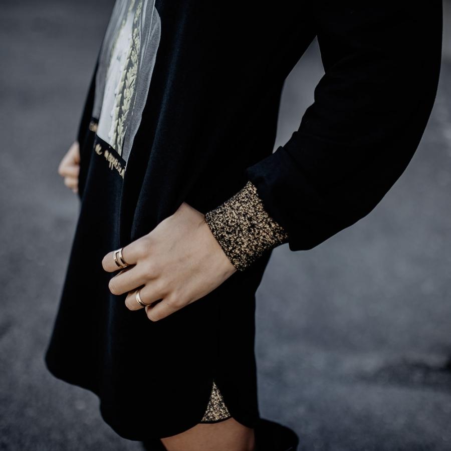 vestido capucha Vanessa Paradise