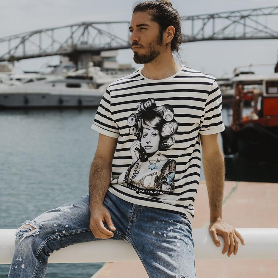 camiseta a rayas sophia 5