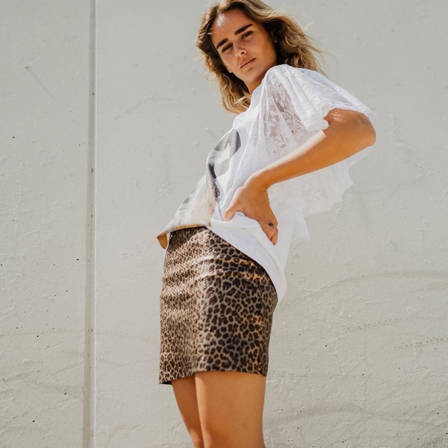 minifalda animal print 4